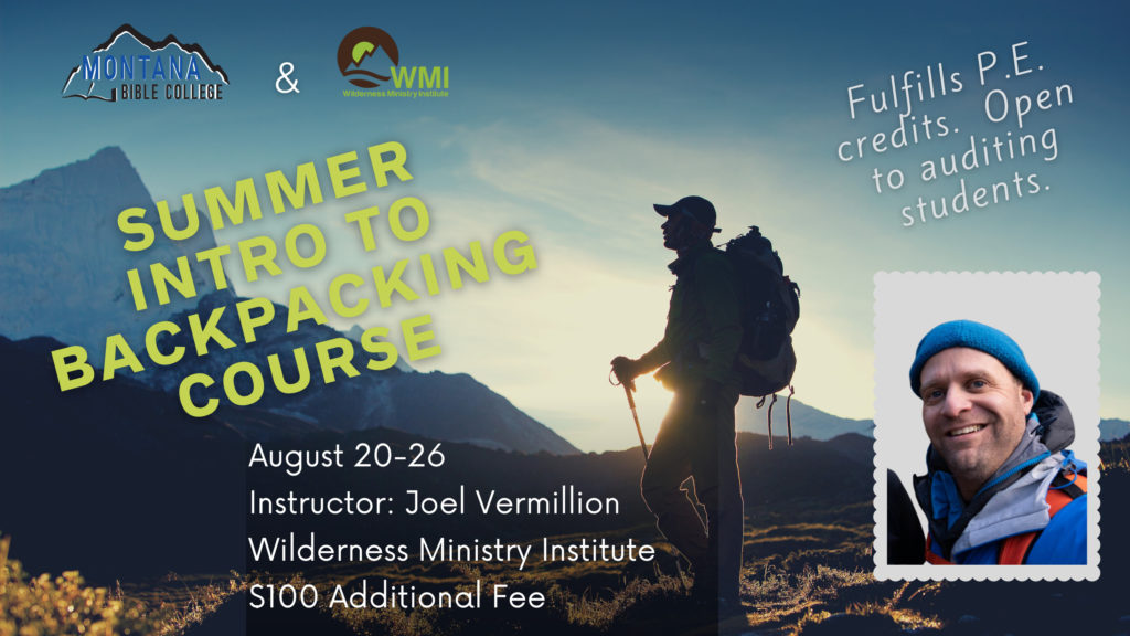 Intro to Backpacking Course Image
